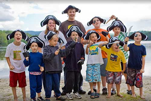 Pirate day at Brighton State Park!