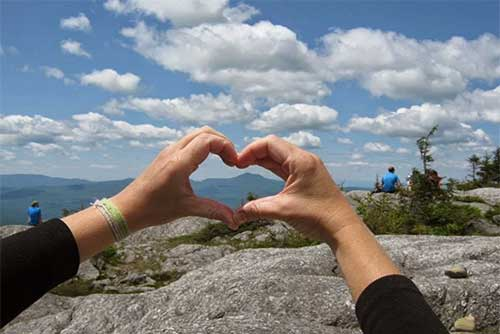 I heart Camel's Hump State Park (photo credit: Jessica Savage)
