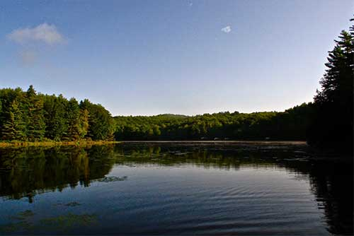 Early morning at Half Moon Pond (photo credit: Eric Montgomery)