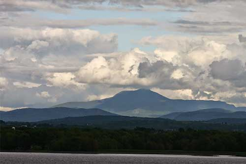 A great view of Mt. Mansfield from Kingsland Bay State Park (photo credit: Lene Gary)