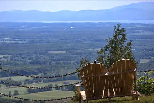A great view from the summit of Mt. Philo (photo credit: Alison Joseph)