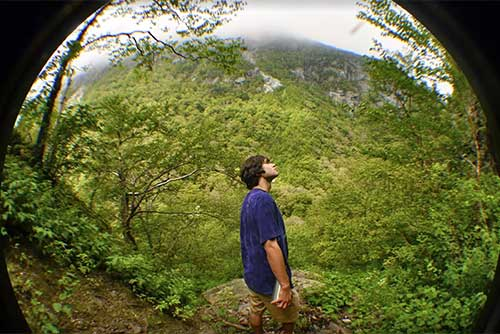 Taking in nature at Smugglers' Notch State Park