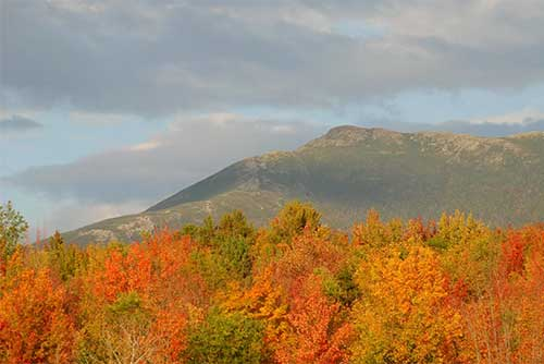 Autumn colors on Mount Mansfield