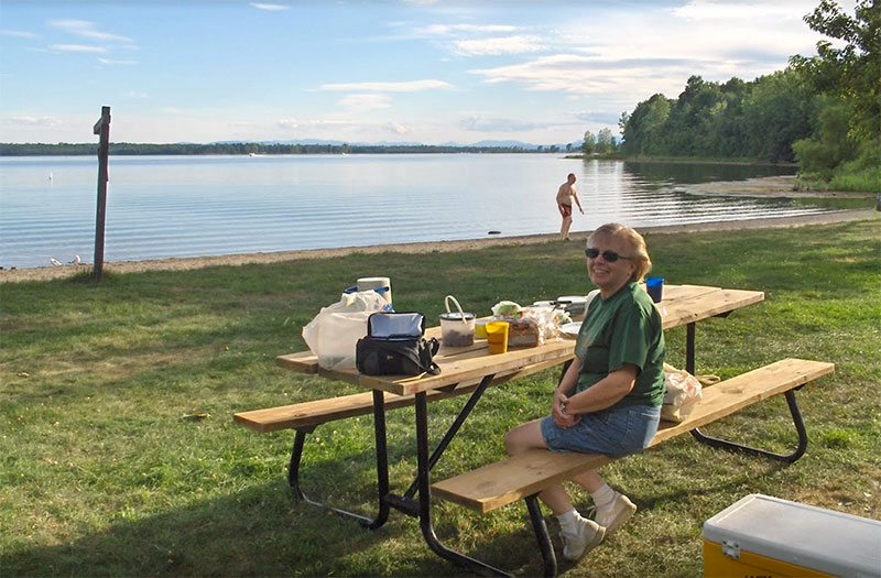 Knight Point is a great park for picnickers