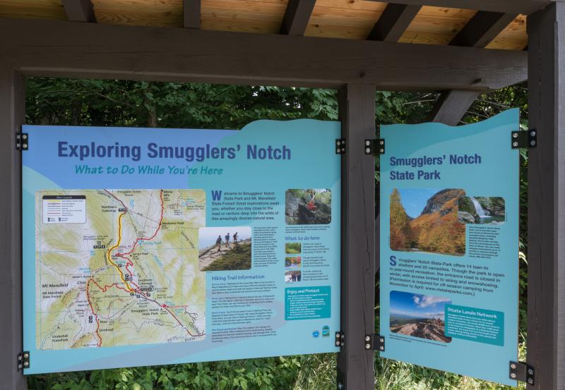 Smugglers' Notch Map