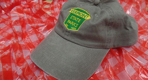 VT State Parks grey cap