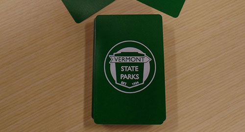 VT State Parks playing cards
