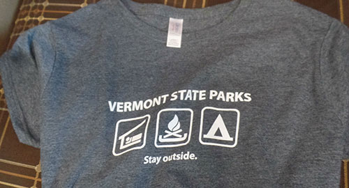 VT State Parks gray t-shirt