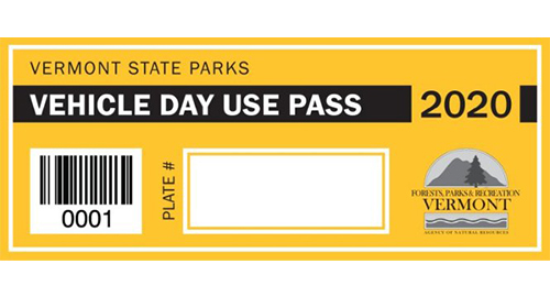 VT State Parks vehicle pass