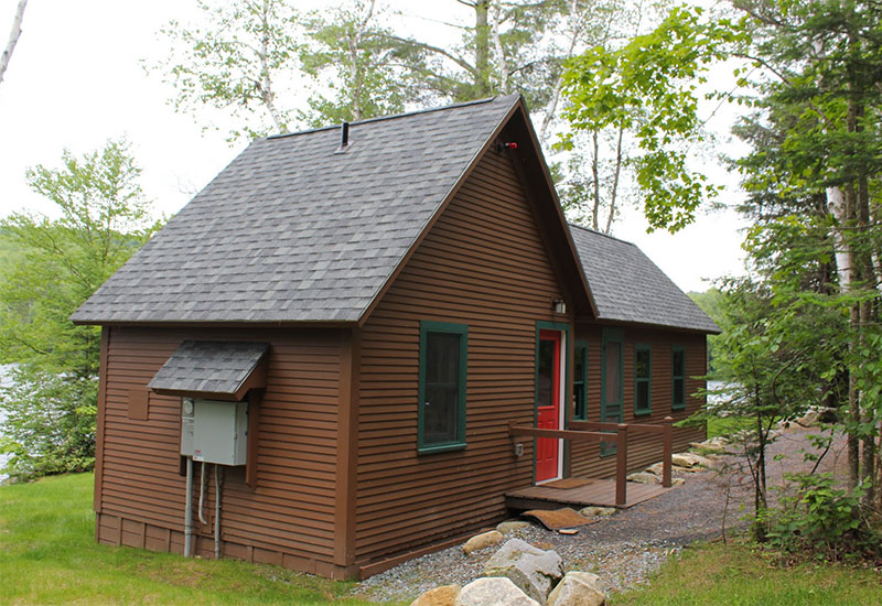 Perry Merrill Cottage at Ricker Pond State Park