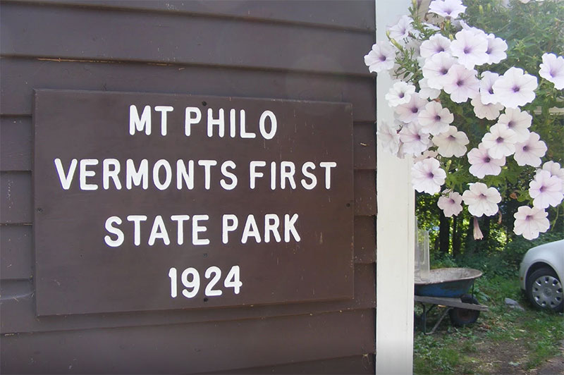 Mt. Philo sign