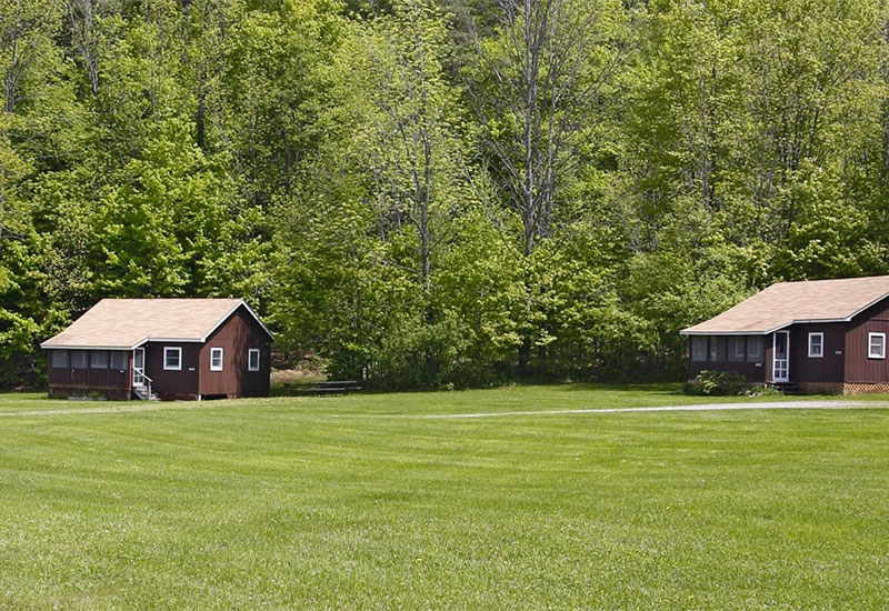 Camp Plymouth cottages