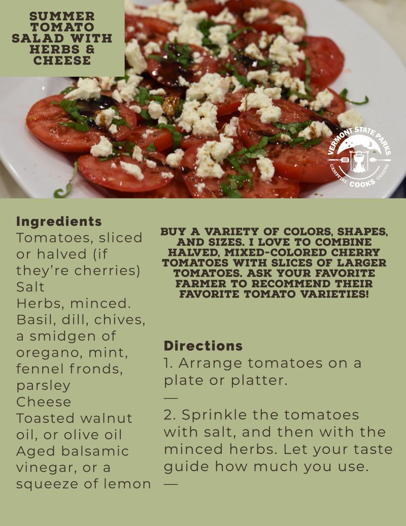 Summer Tomato Salad with Herbs