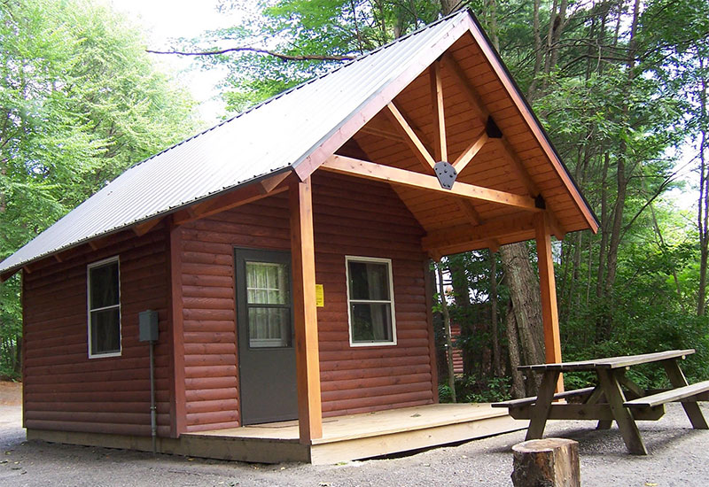 The Otter Cabin at Wilgus